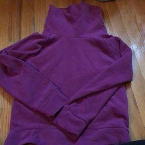 Really cozy Purple fleece size small (6-7)